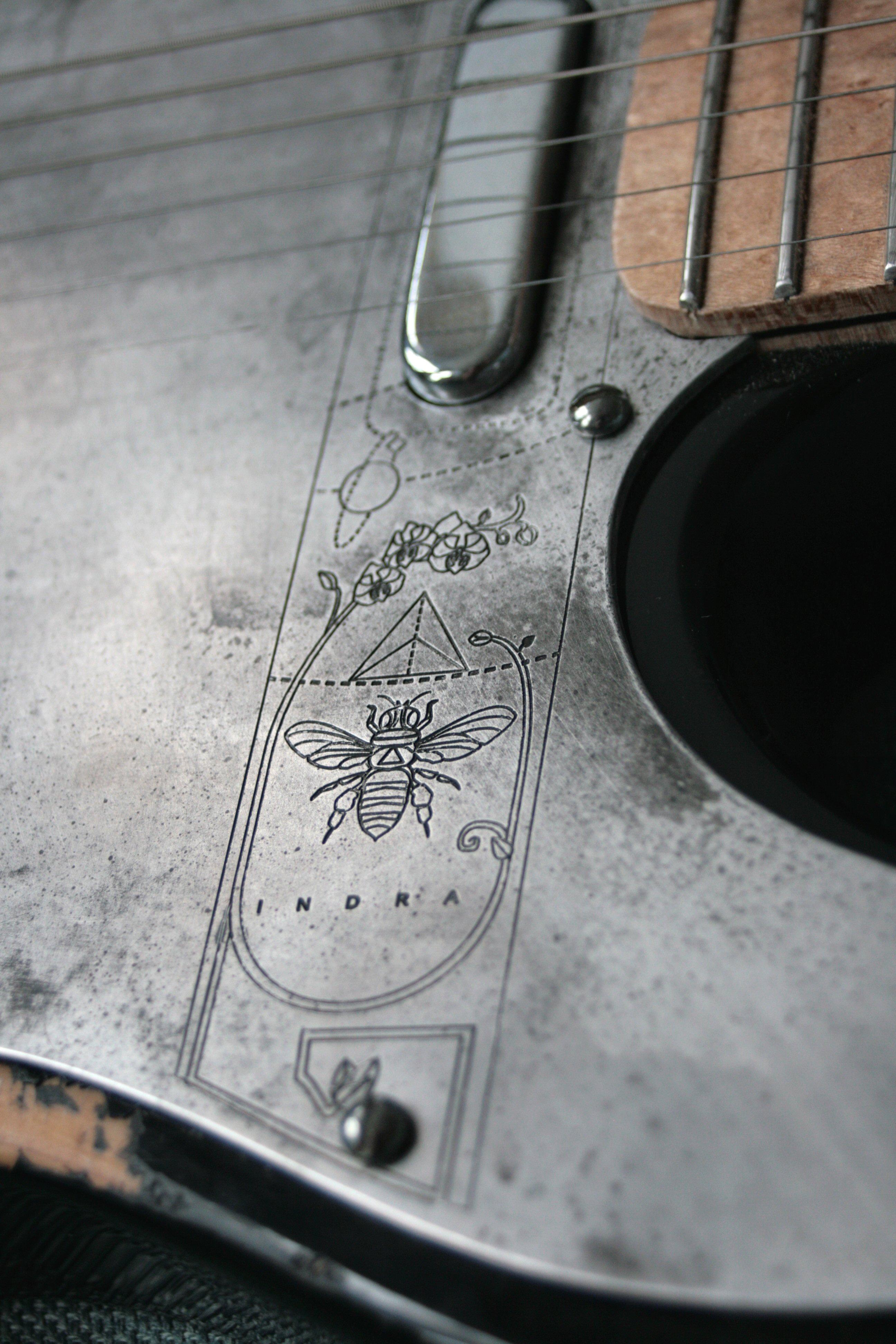 Telecaster Azimuth Design (Aluminium)