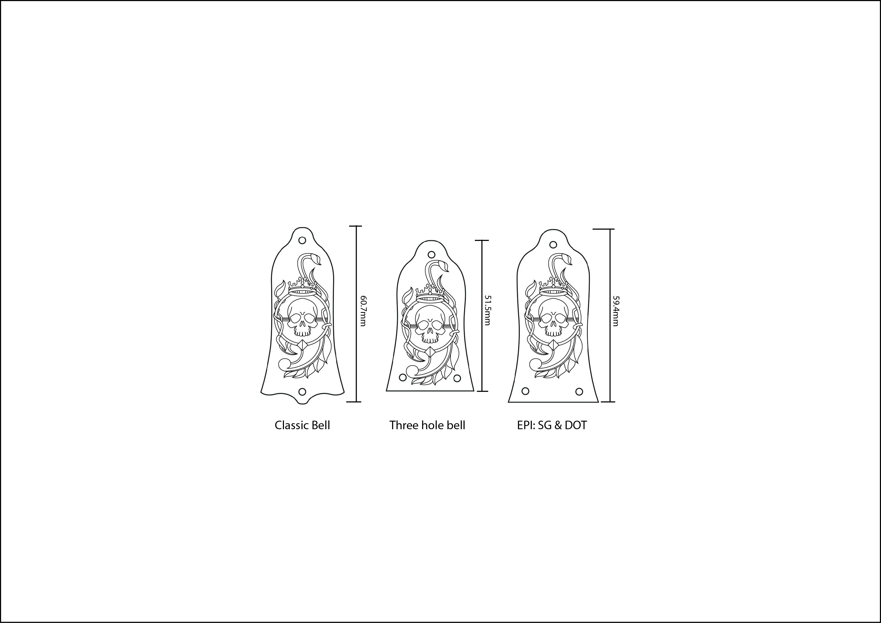 Truss rod cover variations