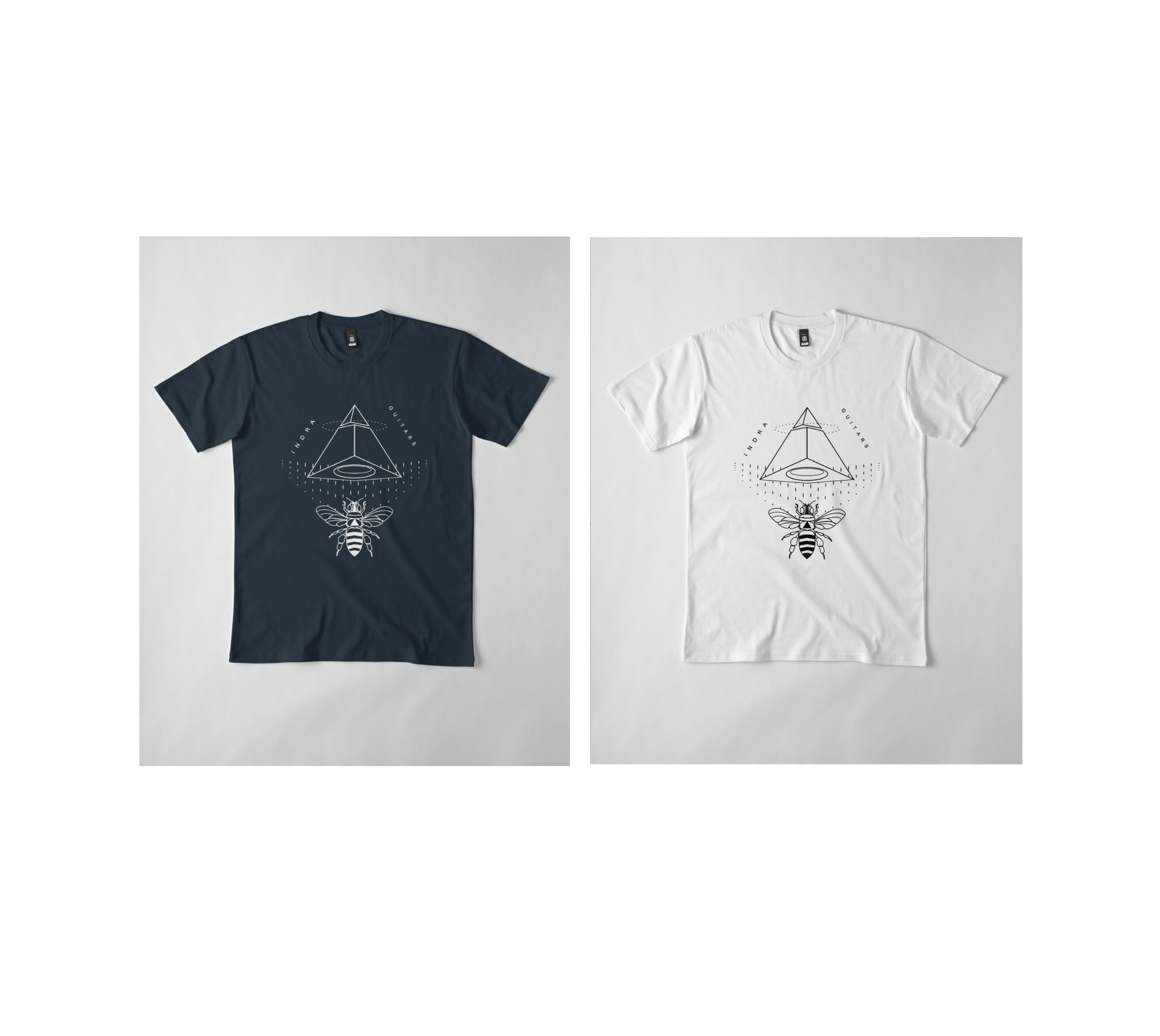 azimuth navy and white